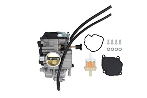 Bear 1999 - New Carburetor For Yamaha Bear Tracker 250 YFM250 YFM250X YFM250B 2WD ATV 1999 2000 2001 2002 2003 2004 YFM 250 Carb Fuel Filter