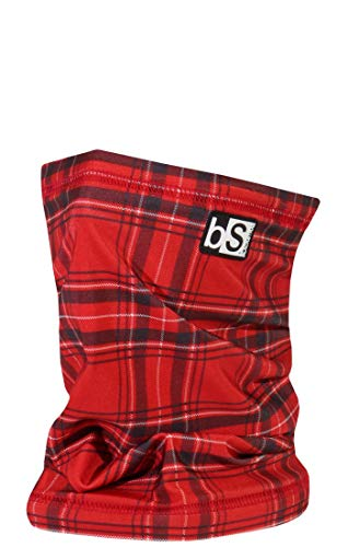 BlackStrap The Tube, Dual Layer Cold Weather Neck Gaiter and Warmer for Men and Women, Red Plaid