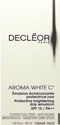 Decleor Aroma White C+ Protective Brightening Day 50ml(1.69oz) SPF 15 Brand New