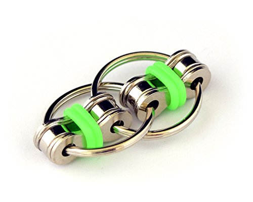 - FidgetWorks Norm Chain Fidget Toy for Autism, ADD, ADHD, Stress & Idle Hands (Green) (DGC1723)