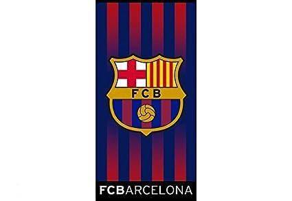 Toalla Playa OFICIAL FC BARCELONA Escudo BAR190 75X150 cms