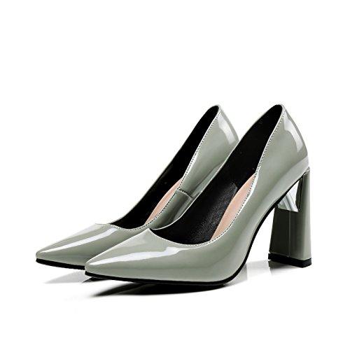 Conseil de printemps de lumière élégant high-heeled code taille Femmes chaussures gray 18j5pfafn