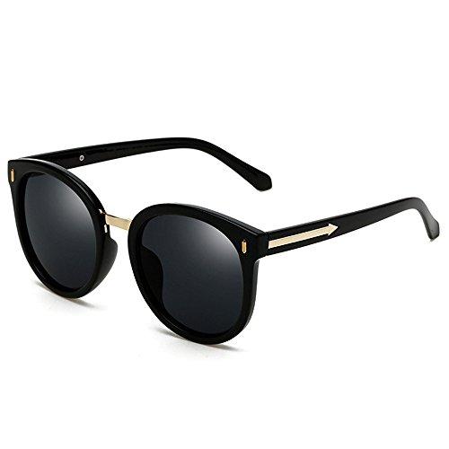 VLCGQI Wayfarer Sunglasses Collection for Men and Women Classic 80's Retro Vintage Fashion Timeless Style Color Bright black box all gray polarized - Glasses Ti Brand