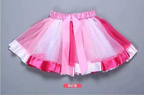 MILASIA Falda de Baile para niñas de 2 a 10 años, Falda de tutú ...