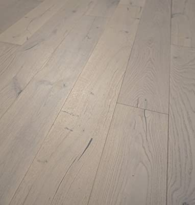 "Wide Plank 7 1/2"" x 1/2"" European French Oak (Monaco) Prefinished Engineered Wood Flooring Sample at Discount Prices by Hurst Hardwoods"