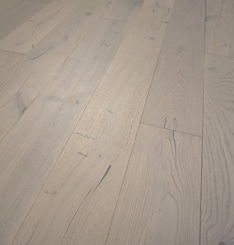 Wide Plank 7 1/2' x 1/2' European French Oak (Monaco) Prefinished Engineered Wood Flooring Sample at Discount Prices by Hurst Hardwoods
