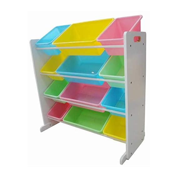 Babycenterindia Storage Organizer (White) Wooden