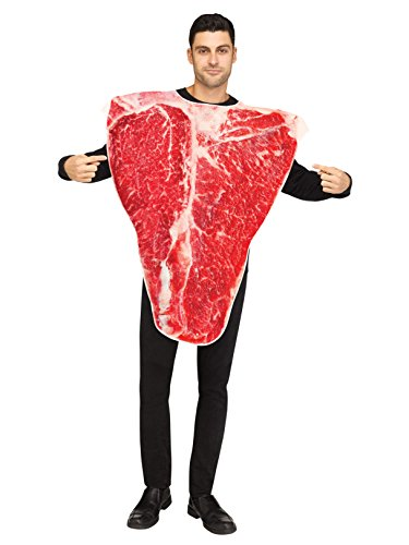 Fun World Men's Piece of Meat, Multi, STD. Up to 6' / 200 lbs. -