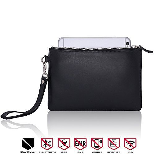 Silent Pocket Medium Faraday Bag Cage Cell Phone Sleeve Pouch Carryall - Blocks All Wireless Signals