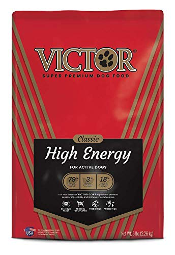 VICTOR Classic - High Energy, Dry Dog Food (Best Food For Cane Corso)