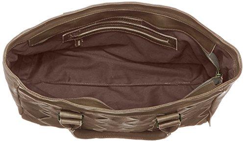 Cowboysbag Denny 1613 Damen Schultertaschen 28x39x15 cm (B x H x T) Grau (Dark Grey 115) YsBDn1a