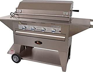 product image for Lazy Man Masterpiece Series Mobile Outdoor Natural Gas Barbecue Grill