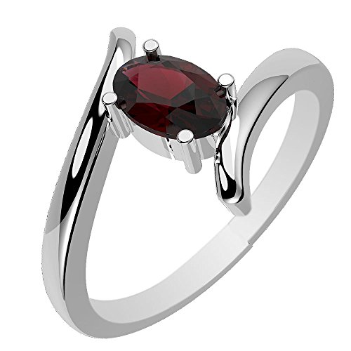 8x6mm Oval Ring Setting - 4