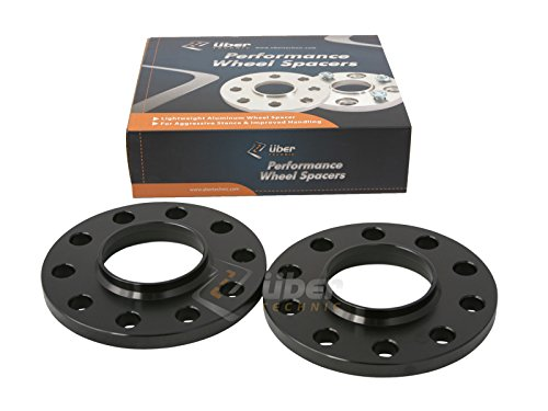 Black E39 525 528 530 540 74.1mm Bore 2pcs 10mm 5x120 Hubcentric Wheel Spacers Compatible with 1996-2003 BMW 525i 528i 530i 540i M5