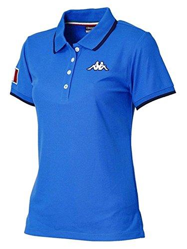 カッパゴルフ/カッパ/Kappa Golf Itaria ITALIAロゴ 半袖シャツ(レディース)