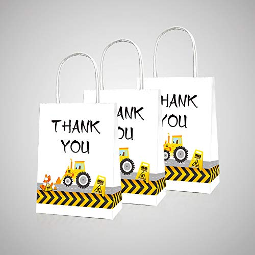 CC HOME Construction Party Supplies,Construction Zone Party Bags