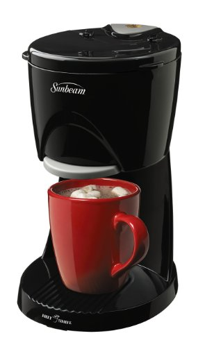 Sunbeam Hot Shot Hot Water Dispenser 16 oz, Black, 006131 (Single Bowl Compact)