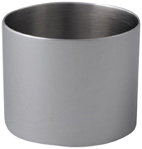 Cuisinox RNG-10075 Pastry Ring/Food Stacker, 100mm Diameter by 75mm Height, Stainless Steel