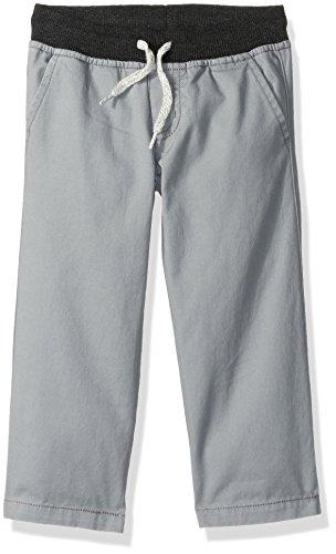 Gymboree Baby Toddler Boys' Ribbed Pants, Warm Gray, 3T