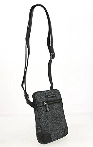 Arthur&Aston, Borsa a secchiello donna nero nero 16.0 (L) x 3.0 (E) x 20.0 (H) cm