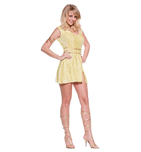 Greek Goddess Costume - Small - Dress Size 4-6 (Greek Goddess Sandals)