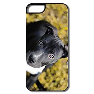 For HTC One M7 Case Cover Covers, Puppy White/black For HTC One M7 Case Cover