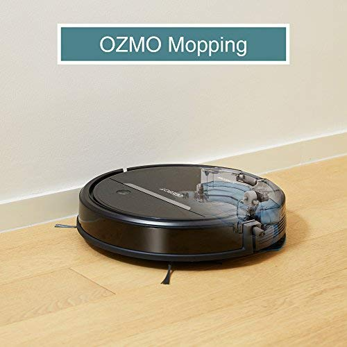 ECOVACS OZMO 601 SelfCharging Robot Mop amp Vacuum wSmart Phone App Controls AutoClean Mode 2 Specialized Cleaning Modes Digital Mop for Pet Hair Dirt Dried Liquids amp Hard Floors