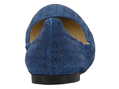 Suede Flats Women's 5CAV5874501 Blue Castaner Cx4qBP