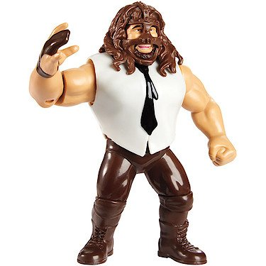 WWE Mankind (Mick Foley) - Mattel Retro Series 2 Toy Wrestling Figure ()