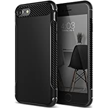 Caseology Vault Series iPhone 7 / 8 Cover Case with Thin Rugged Flexible for Apple iPhone 7 (2016) / iPhone 8 (2017) - Matte Black