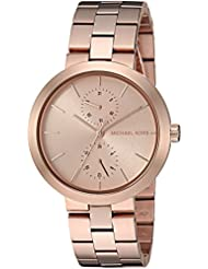 Michael Kors Womens Garner Rose-Gold Tone Watch MK6409