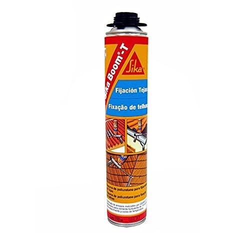 Sika Boom T, Espuma de poliuretano para pegado de tejas, 750ml, Rojo: Amazon.es: Bricolaje y herramientas