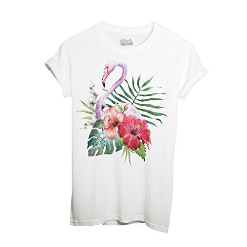 T-Shirt FENICOTTERO ACQUARELLO - MUSH by iMage Dress Your Style