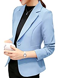 Suvotimo Women Elegant OL Business Suits Blazer Tops Jackets Outfit