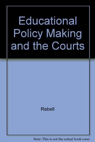 Educational Policy Making and the Courts: An Empirical Study of Judicial Activism