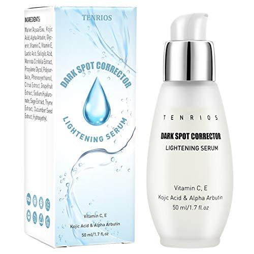 Dark Spot Corrector, Lightening Serum Brightening Serum for Face and Body with Kojic Acid, Alpha Arbutin, Vitamin C E, Natural Extract to Anti Aging 50 Milliliter