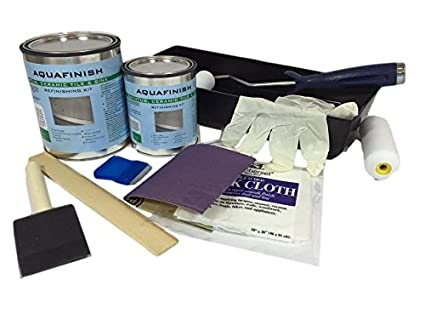 AquaFinish 32 oz Bathtub and Tile Refinishing Kit - Household Paints ...