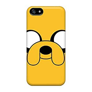 Excellent Iphone 5/5s Cases Covers Back Skin Protector Adventure Time Jake