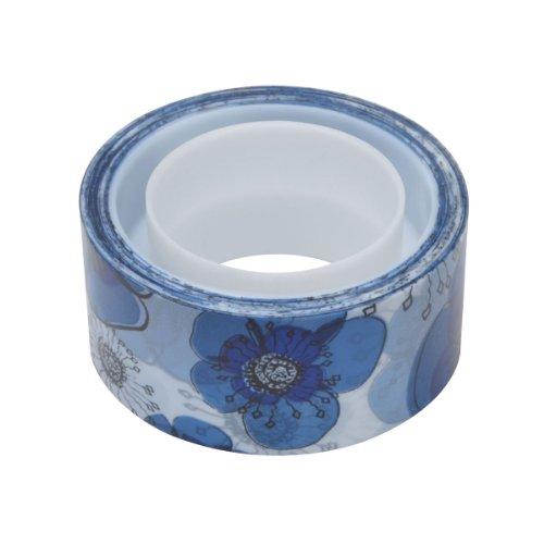 Scotch Expressions Magic Tape, 3/4 x 300 Inches, Blue Floral, 6-Rolls/Pack Photo #2