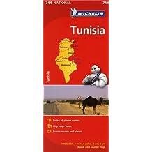Michelin Africa Tunisia  Map 744