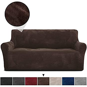 Amazon.com: Stretch Seat Chair Covers Couch Slipcover Sofa ...