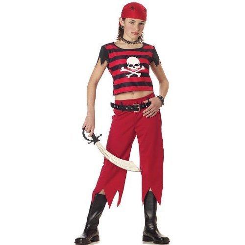 Hip Punk Pirate 6-8 California Costumes