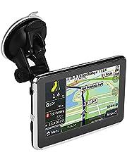 GPS Navigation for Car, Universal 5 Inch Touch Screen Car Navigator Portable Truck Navigator DDR256M 8G MP3 FM Europe Map 508