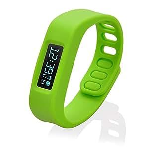 JINTO®Smart Pulsera Inteligente Bluetooth Bracelet Healthy Moniter Smart Wristband(Green)