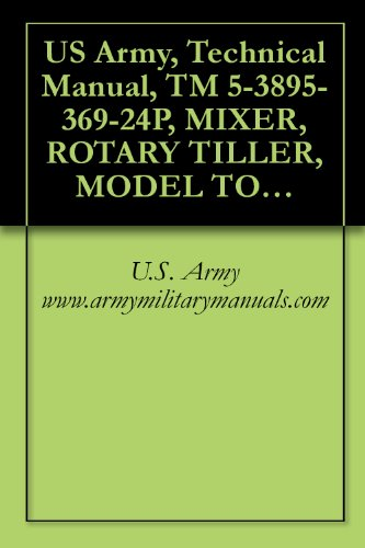 amazon com us army technical manual tm 5 3895 369 24p mixer rh amazon com U.S. Army Special Forces Manual U.S. Army Special Forces Manual