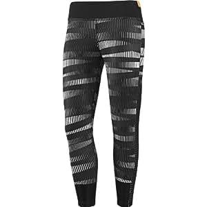 Adidas Originals Studio Power Tight Legging D89613 Black/White Women's Yoga Pants (Size Medium)