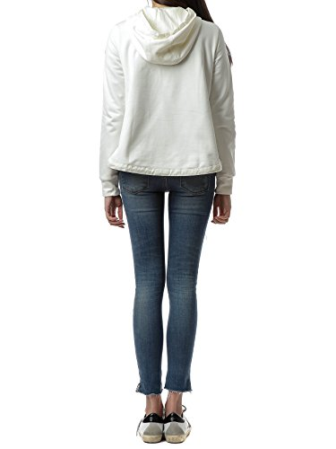 Wiberlux Moncler Women's Padded Panel Hooded Zip-Up Jacket XS Ivory by Wiberlux (Image #2)