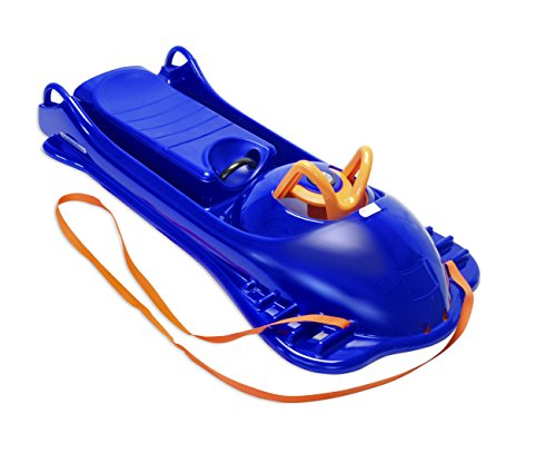 Mountain Sled (Eurosled Mountain Racer Sled, De-Icer Blue)