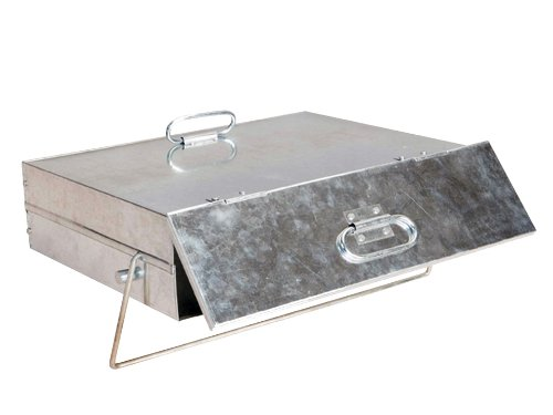 Manor Quality Galvanised Ash Carrier Box #0569