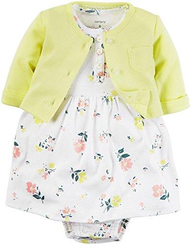 Carters Girls Piece Print Dress